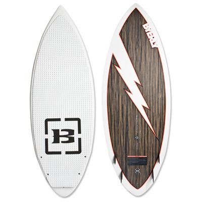 Byerly Wakeboards Hazard Wakesurf Board 2013