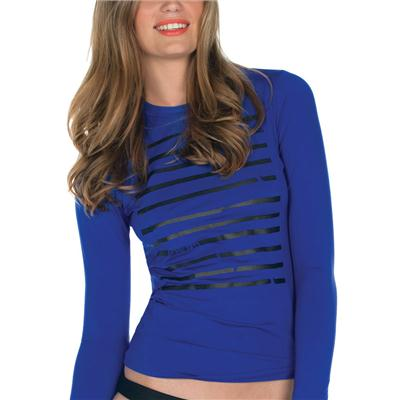 Volcom Behind Bars Long Sleeve Rashguard - Women's 2013