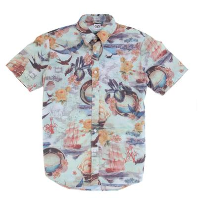 Volcom Ol'Shipster Short-Sleeve Button-Down Shirt