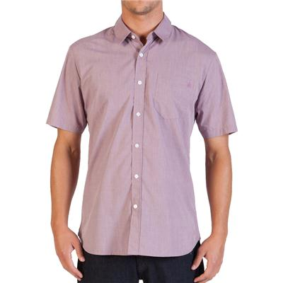 Volcom Why Factor End On End Short-Sleeve Button-Down Shirt