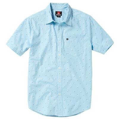 Quiksilver Ho Chi Fin Short-Sleeve Button-Down Shirt