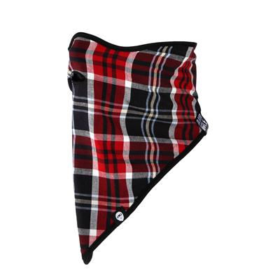Airhole Berry Plaid Facemask