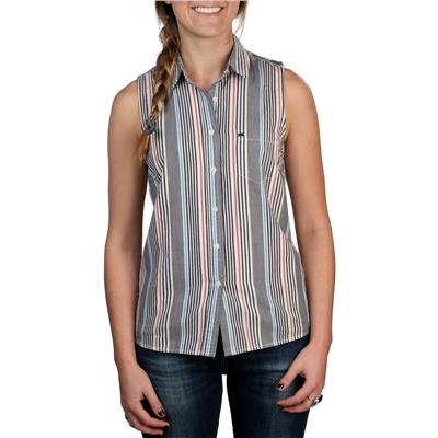 Obey Clothing Pearce Sleeveless Button Down Shirt - Women's