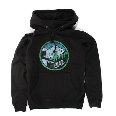 evo Mountain Scape Pullover Hoodie