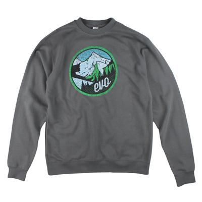 evo Mountain Scape Crew Neck Sweatshirt
