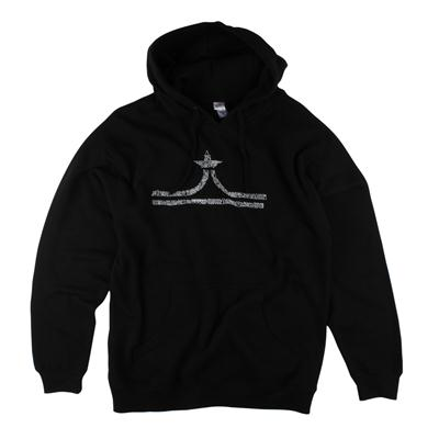 evo Hand Drawn Crown Pullover Hoodie