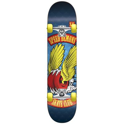 Speed Demons Skate Club Dragster Complete Skateboard