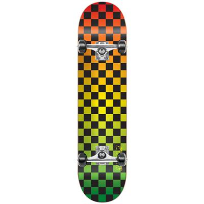 Speed Demons Checkerboard Fade Complete Skateboard