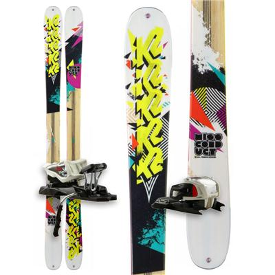K2 MissConduct Skis + Marker Free 10.0 Bindings - Women's 2013