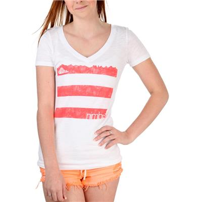Nimbus Independent Tres Lineas V-Neck T-Shirt - Women's