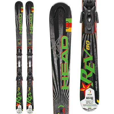 Head REV 80 Pro Skis + PR 11 Bindings 2013