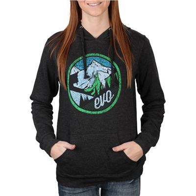 evo Mountain Scape Pullover Hoodie - Women's