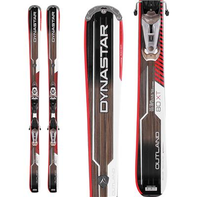 Dynastar Outland 80 XT Skis + NX 12 Fluid Bindings 2013
