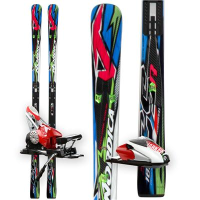 Nordica Dobermann GSR EDT Skis + Comp 20 Bindings 2012