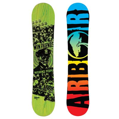 Arbor Draft Mini Snowboard - Boy's 2013