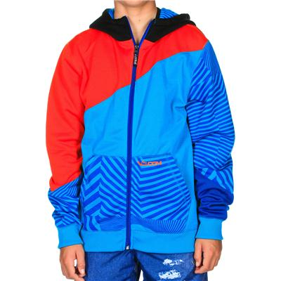 Volcom Bulldog Block Full Zip Hoodie - Boy's