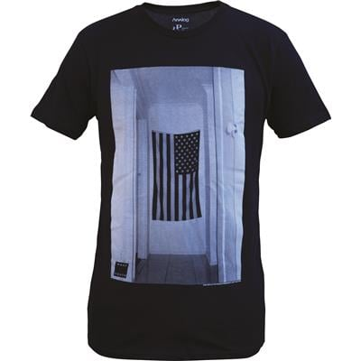 Analog Wall Flag T-Shirt