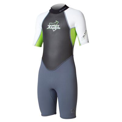 XCEL SLX OS Offset Zip 2 mm Springsuit - Kid's