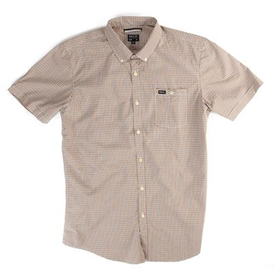 RVCA United Short-Sleeve Button-Down Shirt