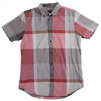 RVCA Squared Up Short Sleeve Button Down Shirt