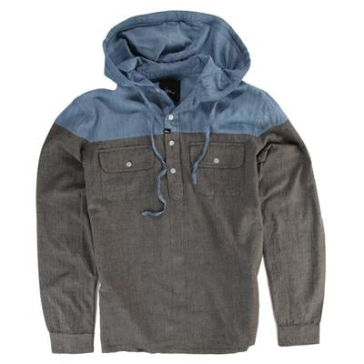 Imperial Motion Harmony Hooded Henley Shirt