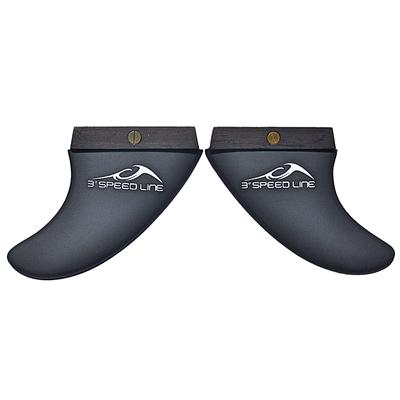 Inland Surfer 3 Degrees 9 Speed Line Fins 2014
