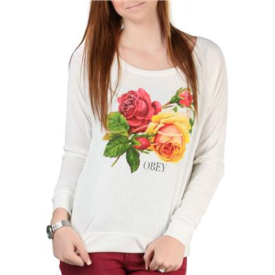 Obey Clothing Bed Of Roses Sweatshirt - Women's