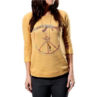 Obey Clothing Broken Gun Crew Neck Fleece - Women's
