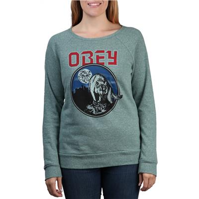 Obey Clothing Wolfen Crew Neck Fleece - Women's