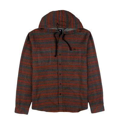 Billabong Slammer Hooded Button-Down Flannel Shirt