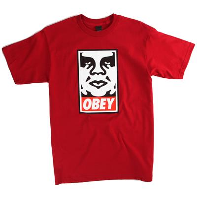 Obey Clothing Icon Face T-Shirt