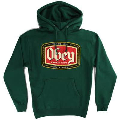 Obey Clothing Original Lager Pullover Hoodie