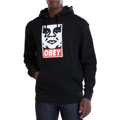 Obey Clothing Icon Face Pullover Hoodie