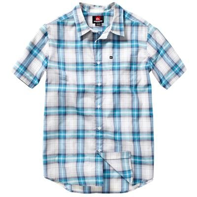 Quiksilver Waves Ghetto Short-Sleeve Button-Down Shirt