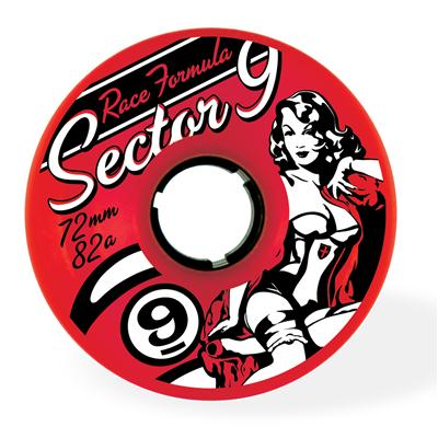 Sector 9 Race Formula 82A Longboard Wheels