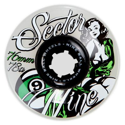 Sector 9 Goddess of Speed TS 78A Longboard Wheels