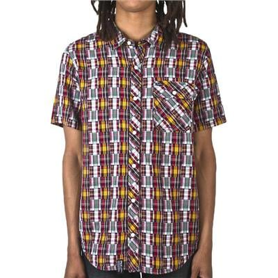 LRG Blotter Short-Sleeve Button-Down Shirt