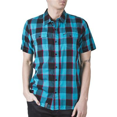 LRG Innovative Essence Short-Sleeve Button-Down Shirt
