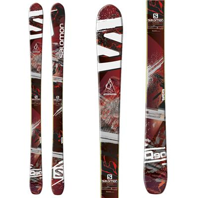 Salomon Q-90 Skis 2014