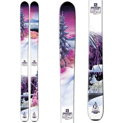 Salomon Q-103 Stella Skis - Women's 2014