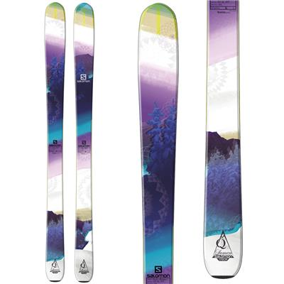 Salomon Q-96 Lumen Skis - Women's 2014