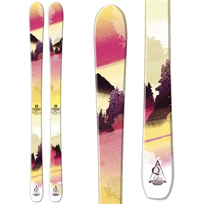 Salomon Q-88 Lux Skis - Women's 2014