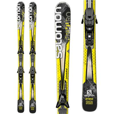 Salomon Enduro XT 850 Skis + Z12 Bindings 2014