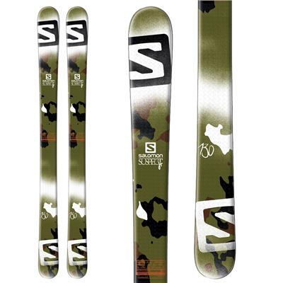 Salomon Suspect Jr Skis - Boy's 2014