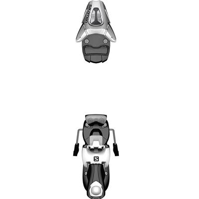 Salomon C5 Ski Bindings - Kid's 2014
