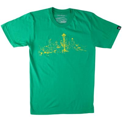Casual Industrees Seattle Lights T-Shirt