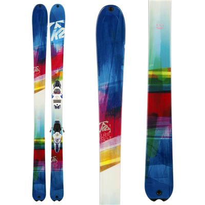 K2 SuperBright 90 Skis - Women's 2014