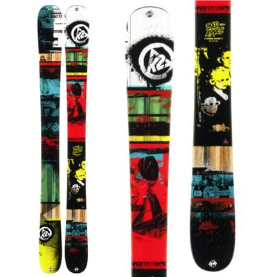 K2 Bad Apple Skis - Boy's 2014