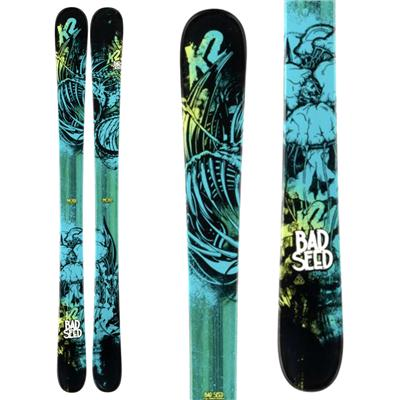 K2 Bad Seed Skis - Boy's 2014