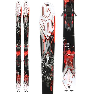 K2 AMP Rictor 90XTi Skis + MXC 14 Bindings 2014